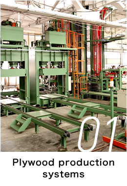 Plywood production systems
